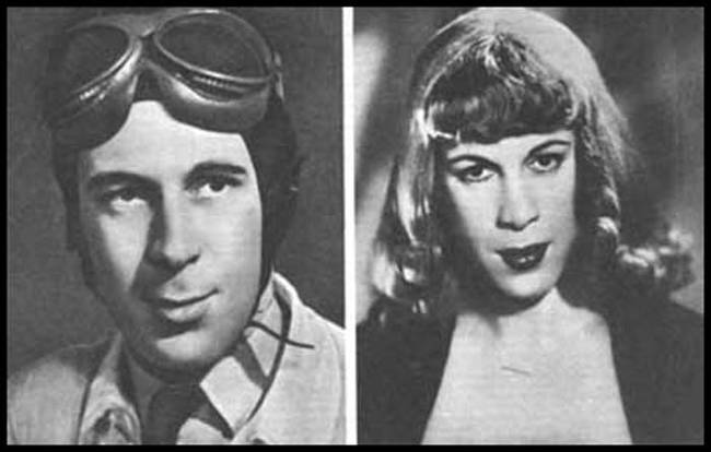 Gillies even performed the world's first sex reassignment surgery in 1946. Below is a picture of Roberta Cowell, the first person to undergo male to female sex reassignment surgery.