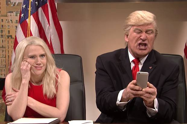 Saturday Night Live Danielle Muscato Alec Baldwin Donald Trump