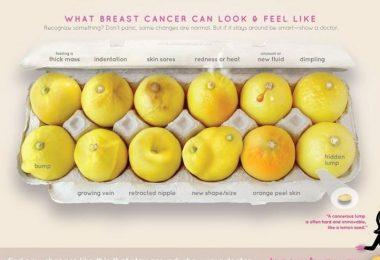 Viral Photo of 12 Lemons Help Women Detect Breast Cancer