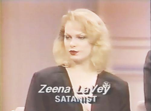 Zeena LaVey, Satanist.
